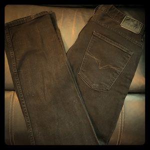 Men's Black GUESS Denim Jeans, LIKE NEW